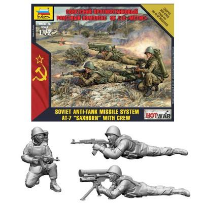 Figurines 2ème Guerre Mondiale : Soldats soviétiques - Zvezda-7413