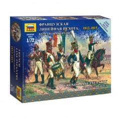 Figurines Guerres napoléoniennes : Etat-major infanterie française 1812-1815