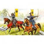 Figurines historiques : Japon médiéval : Archers Samouraïs à Cheval
