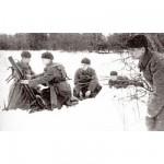 Figurines historiques 2ème guerre mondiale : Mortier Soviétique 82mm Hiver