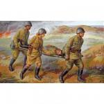 Figurines historiques 2ème guerre mondiale : Personnel Médical Sovietique