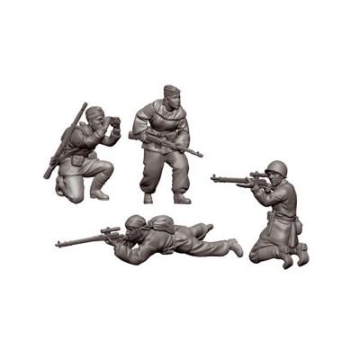 Figurines historiques 2ème guerre mondiale : Tireurs d'Elite Soviétiques - Zvezda-6193