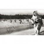 Figurines historiques 2ème guerre mondiale : Troupes à Skis Soviétiques