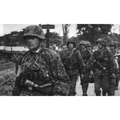 Figurines historiques 2ème guerre mondiale : Troupes Elite Allem. 1939-43 - Zvezda-6180