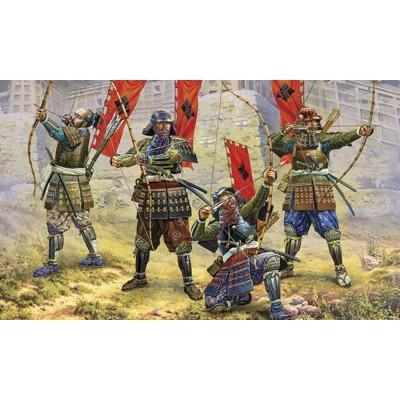 Figurines historiques Japon médiéval : Archers Samouraïs - Zvezda-6404