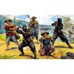 Figurines historiques Japon médiéval : Ninjas
