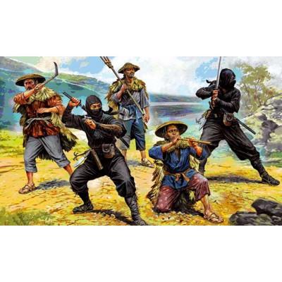 Figurines historiques Japon médiéval : Ninjas - Zvezda-6406