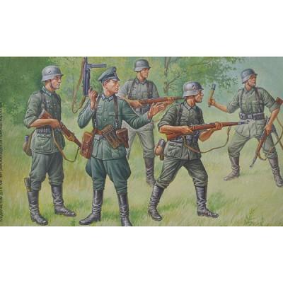 Figurines 2ème Guerre Mondiale : infanterie allemande 1939-1943 - Zvezda-6178