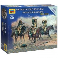 Figurines Militaires : Dragons Français à cheval 1812-1814