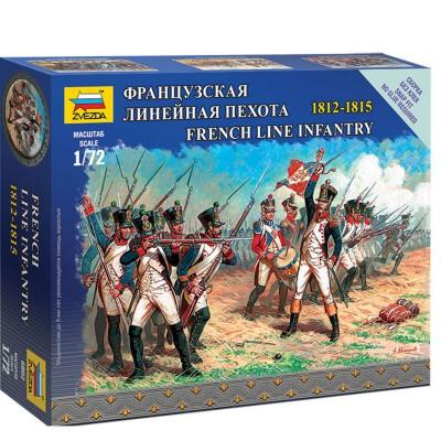 Figurines militaires : Infanterie de ligne française 1812-1815 - Zvezda-6802