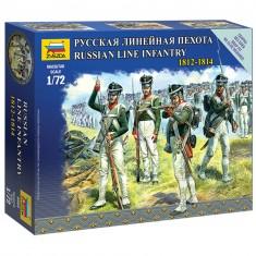 Figurines Militaires : Infanterie Ligne Russe 1812-1814