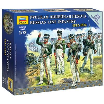 Figurines Militaires : Infanterie Ligne Russe 1812-1814 - Zvezda-6808