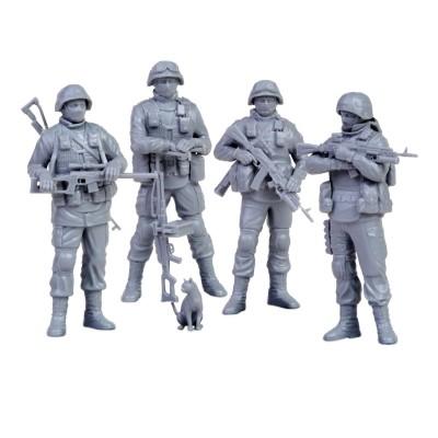 Figurines militaires : Modern Russian Infantry Polite People - Zvezda-Z3665
