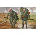 Figurines 2ème Guerre Mondiale : Personnel Médical Allemand