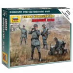 Figurines militaires : Etat-Major Allemand