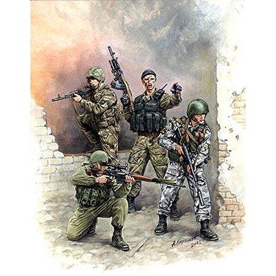 Figurines 2ème Guerre Mondiale : Forces spéciales Russes - Zvezda-3561