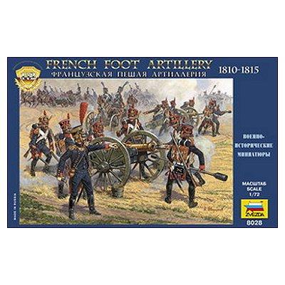 Figurines Guerres napoléoniennes: Artilleurs Français 1812  - Zvezda-8028