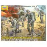 Figurines 2ème Guerre Mondiale : Sapeurs allemands