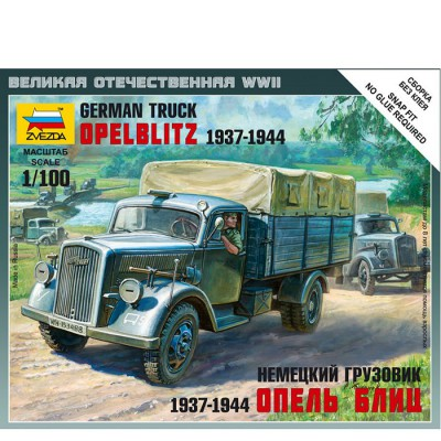 Maquette camion allemand Opel Blitz 1937-1944 - Zvezda-6126