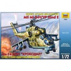 Maquette hélicoptèrede combat MiL-24V/VP Hind E