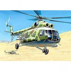 Maquette hélicoptèremulti-effet 8T