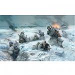 Figurines 2ème Guerre Mondiale : Infanterie allemande tenue hiver