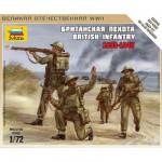Figurines 2ème Guerre Mondiale : Infanterie britannique 1939-1942