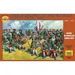 Figurines Infanterie Russe Pierre le Grand: XVIIIème siècle
