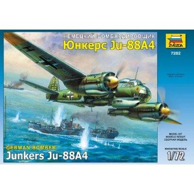 Maquette avion: Junkers JU-88 A4 - Zvezda-7282