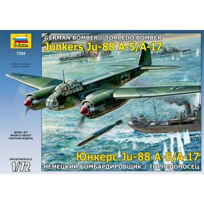 Maquette avion: Junkers Ju 88A-5/A-17 - Zvezda-7284