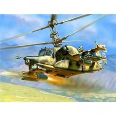 Maquette hélicoptère: Kamov Ka-50 SH Night Hunter