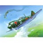 Maquette avion: Lavochkin La-5FN Soviet Fighter