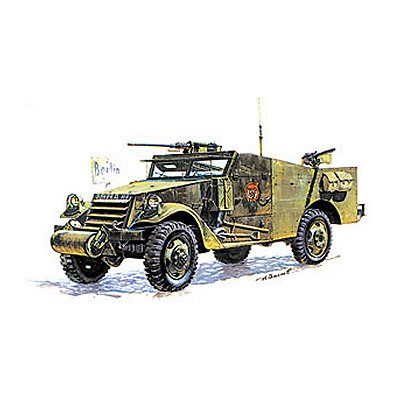 Maquette M-3 Armored Scout Car  - Zvezda-3519