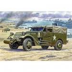 Maquette M3 Armored Scout Car avec bâche