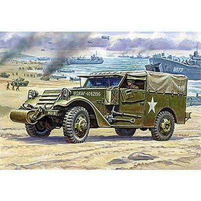Maquette M3 Armored Scout Car avec bâche - Zvezda-3581