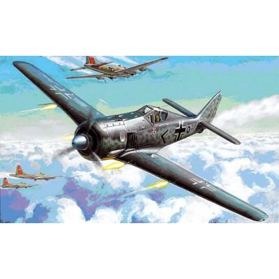 Maquette avion : Focke Wulf Fw190A-4 - Zvezda-7304