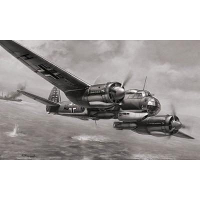 Maquette avion : Junkers Ju88A-4 - Zvezda-6186