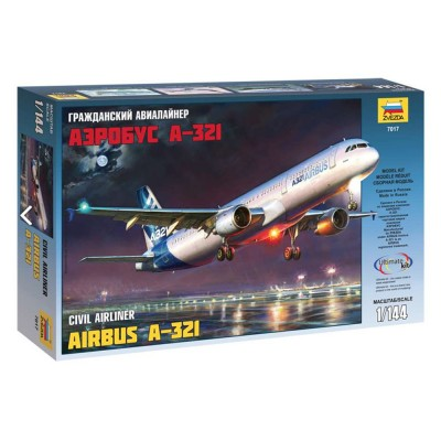 Maquette avion Airbus A-321 - Zvezda-Z7017