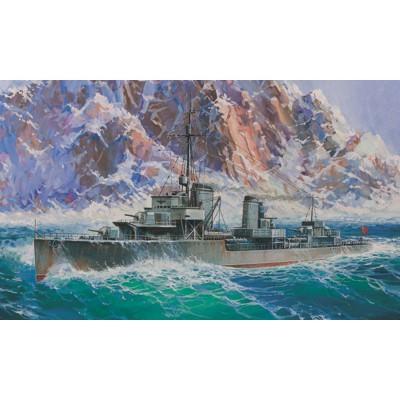 Maquette bateau : Destroyer Allemand Z-17 - Zvezda-9043