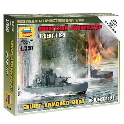 Maquette bateau 1/350 : Bateau soviétique - Zvezda-6164