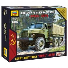 Maquette camion militaire : Ural 4320