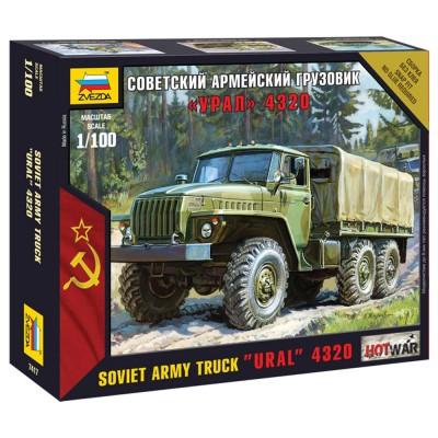 Maquette camion militaire : Ural 4320 - Zvezda-7417