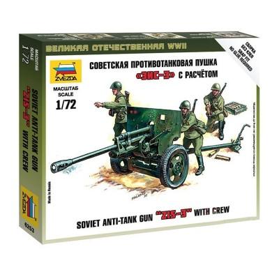 Maquette canon anti-char russe ZiS-3 avec figurines - Zvezda-Z6253