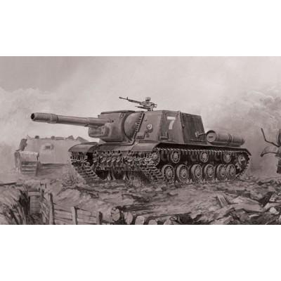 Maquette char : ISU-152 - Zvezda-5026