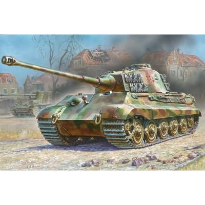 Maquette char : Kingtiger Henschel - Zvezda-3601