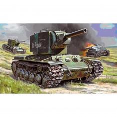 Maquette char : KV-2