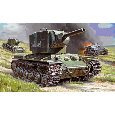 Maquette char : KV-2 - Zvezda-6202