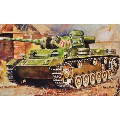 Maquette Char : Panzer III Lance-flammes - Zvezda-6162
