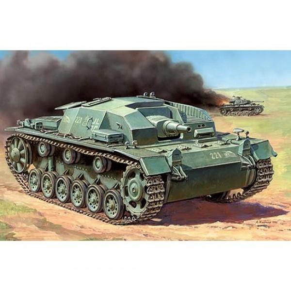 Maquette Char : Sturmgeschutz III Ausf.B - Zvezda-6155