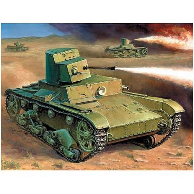 Maquette Char : T-26 Lance-flammes - Zvezda-6165